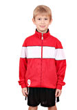 Boy in sportswear portrait Stock Image