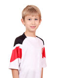 Boy in sportswear portrait Royalty Free Stock Photography