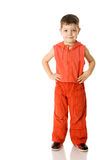 Boy standing Royalty Free Stock Photography