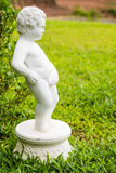 Boy statue Stock Images