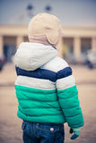 Boy on the street Royalty Free Stock Photography