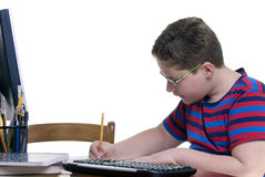 Boy Student royalty free stock image