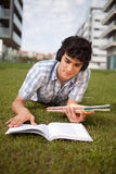 Boy studying Stock Photos