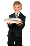 Boy in suit Stock Image