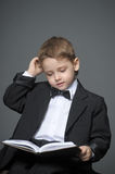 Boy in a suit Stock Photos
