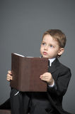 Boy in a suit Royalty Free Stock Image