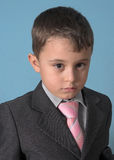 Boy with suit. Portrait of a boy with suit Royalty Free Stock Images