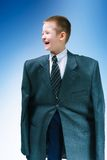 Boy in suit Royalty Free Stock Photos