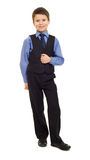 Boy in suit Royalty Free Stock Photo