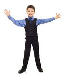Boy in suit Stock Images