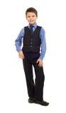 Boy in suit Stock Photo