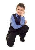 Boy in suit Stock Photography