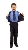 Boy in suit Royalty Free Stock Image