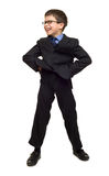 Boy in suit Royalty Free Stock Images