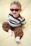 Boy in the sunglasses Stock Image