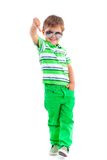 Boy in the sunglasses Stock Photo