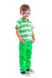 Boy in the sunglasses Stock Photos