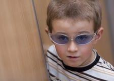 Boy in the sunglasses Stock Photo