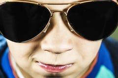Boy in sunglasses Stock Photo