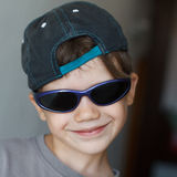 Boy in sunglasses Royalty Free Stock Photography
