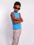 Boy in sunglasses. Stock Photos