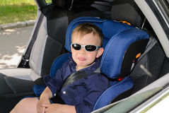 Boy and sunglasses Royalty Free Stock Photo