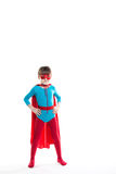 Boy superhero. Idea. Stock Photo
