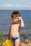 Boy talking Royalty Free Stock Photography