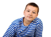 Boy teenager Royalty Free Stock Photography