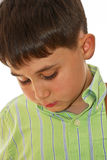 Boy thinking Stock Image