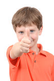 Boy Thumb Up Royalty Free Stock Photography