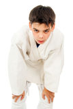 Boy tired of fighting Stock Photos