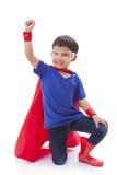 Boy to be a superhero Royalty Free Stock Image
