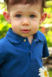 Boy Toddler Look Stock Photography