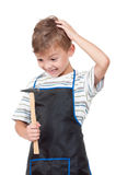 Boy with tools Stock Photography