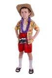 Boy tourist Royalty Free Stock Image
