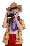 Boy tourist Royalty Free Stock Images