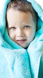 Boy with towel Royalty Free Stock Images