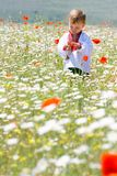 Boy in traditional clothes Stock Photos