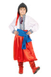 Boy in the Ukrainian national costume Royalty Free Stock Photography