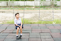 Boy in uniform Royalty Free Stock Images