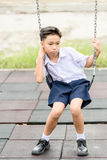 Boy in uniform Royalty Free Stock Photography