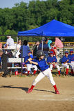 Boy Up To Bat Royalty Free Stock Images