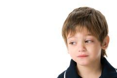 Boy upset royalty free stock images