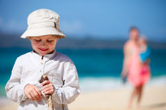 Boy on vacation Stock Photos