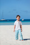 Boy on vacation Stock Images