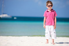 Boy on vacation Royalty Free Stock Image