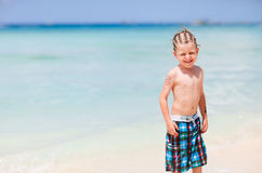 Boy on vacation Royalty Free Stock Photos