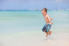 Boy on vacation Royalty Free Stock Photography