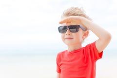Boy at vacation Royalty Free Stock Photo